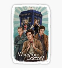 Who's Your Doctor? Sticker