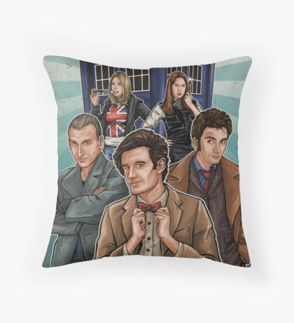 Who's Your Doctor? Throw Pillow