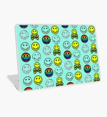 smiley faces Laptop Skin