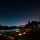 Night at Lake Derwent, Keswick 3 by George Crawford