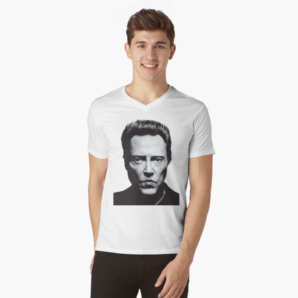 Walken Mens V-Neck T-Shirt Front