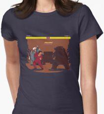 Bear Fight! Women's Fitted T-Shirt