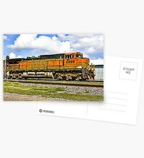 Southbound Train Postcards