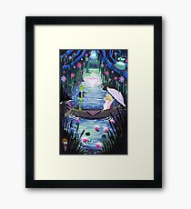 Kermit and Miss Piggy Romantic Cruise Framed Print