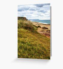 Hengistbury Head in Dorset Greeting Card