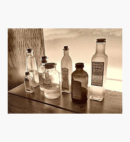 The Old Medicine Cabinet Photographic Print