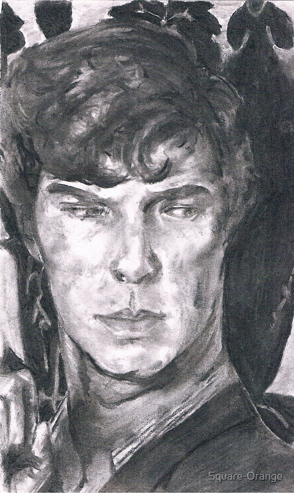 Charcoal Sherlock by Square-Orange