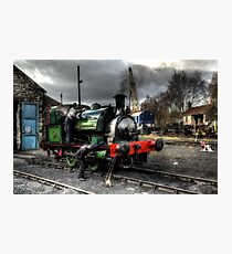 No 2 Steam Engine Photographic Print