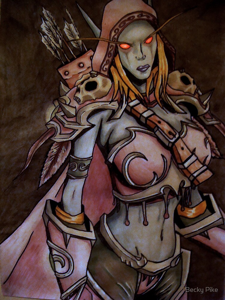 Sylvanas Windrunner by Becky Pike