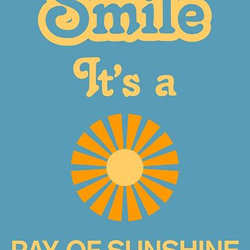 Smile it's a RAY OF SUNSHINE Children's Clothing by SmileitsaShirt