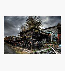 Coal Waggon Photographic Print