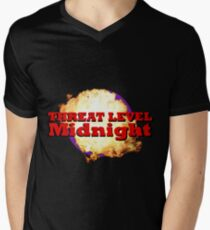 Threat Level Midnight Men's V-Neck T-Shirt
