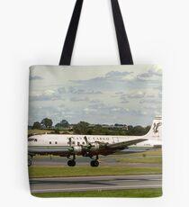 Douglas DC-6A Liftmaster G-APSA Tote Bag