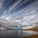 Crossed Clouds in Western Iceland by Peter Hammer