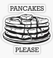 Pancakes Please Sticker