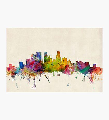 Minneapolis Minnesota Skyline Photographic Print