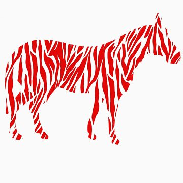 Red Zebra by connertate8
