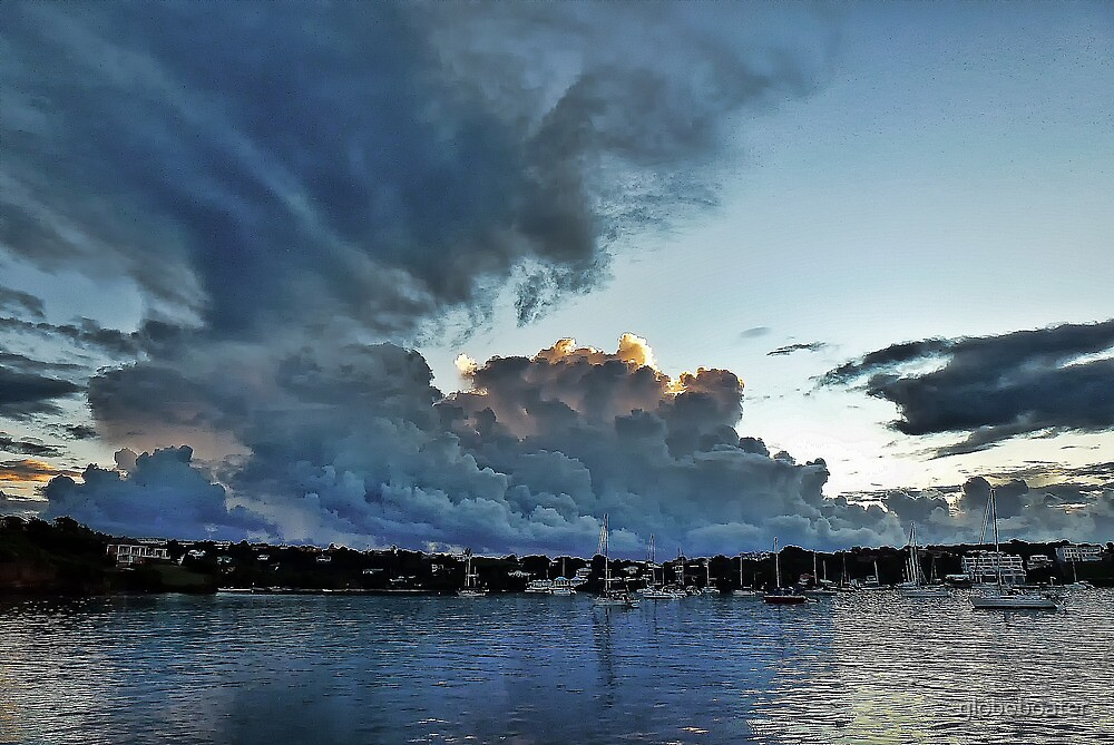 ...it's brewing... by globeboater