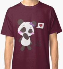 """His & Hers"" Panda (Couple Shirts) Girl Version Classic T-Shirt"