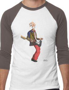 Earthworm Jimi Hendrix Men's Baseball ¾ T-Shirt