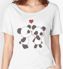 Panda Love Apparel  Women's Relaxed Fit T-Shirt