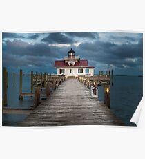 Roanoke Marsh Lighthouse, Outer Banks Poster