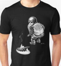 santa leaves a present Unisex T-Shirt