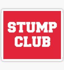 Stump Club Fall Out Boy Sticker