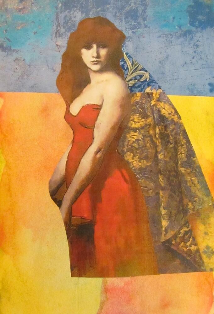 Red Dress by Kanchan Mahon