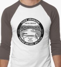 Vintage retro Iver Johnson Truss Bridge bicycle ad T-Shirt