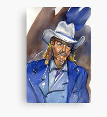 Wild Bill Canvas Print