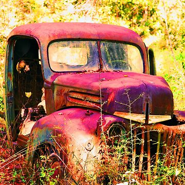 Rusty Ford Truck by ruben