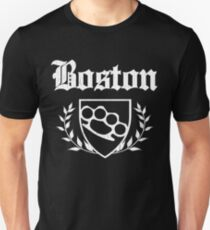 Boston Knuckle Crest (Vintage Distressed) T-Shirt