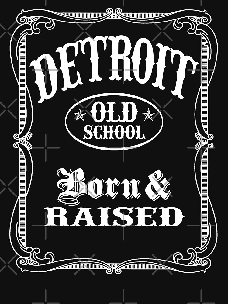 Detroit Old School  by robotface