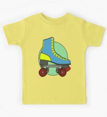 Retro Skate - Blue Kids Clothes