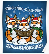 """""""What does the Fox Sing"""" Poster"""