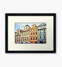 Prague Neighborhood Framed Print