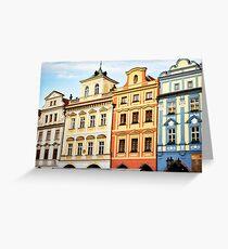 Prague Neighborhood Greeting Card