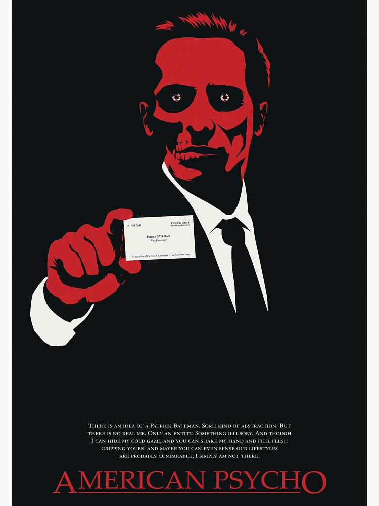 American Psycho: There Is An Idea of a Patrick Bateman von markitzero