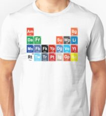 Periodic Table of Social Media T-Shirt