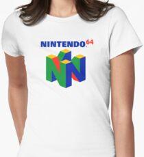 Nintendo 64 Women's Fitted T-Shirt