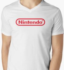 Nintendo Men's V-Neck T-Shirt