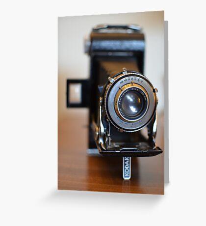 Kodak No. 1 Kodamatic Greeting Card