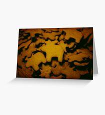 gingerbread Greeting Card