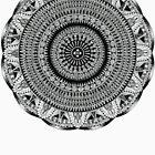 Tut Mandala #2 by TheMandalaLady