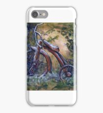Rustic Tricycle iPhone Case/Skin