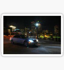 Night Out In Boston Sticker