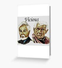 Derek Jacobi & Ian McKellen - Vicious Greeting Card