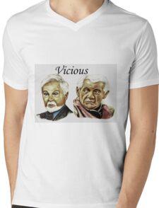 Derek Jacobi & Ian McKellen - Vicious Mens V-Neck T-Shirt