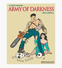 Army Of Darkness - Beige Photographic Print